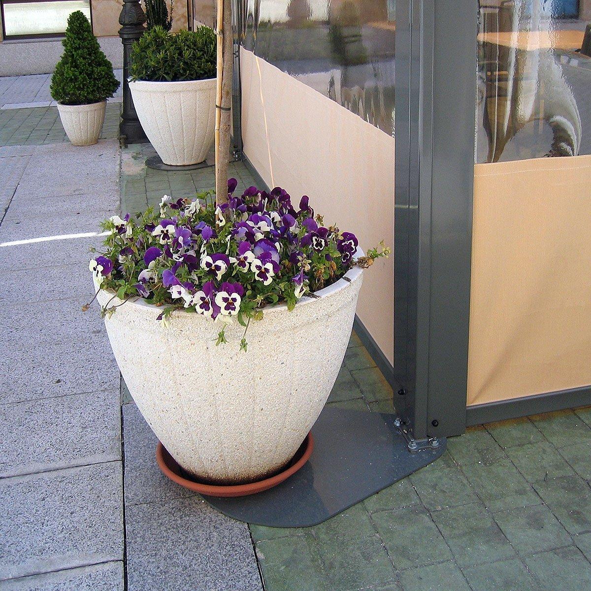 Base para jardinera persysol soluciones profesionales for Bases para jardineras