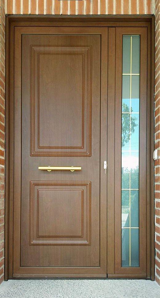 Puertas entrada madera puerta de entrada madera maciza for Puertas de entrada de madera baratas