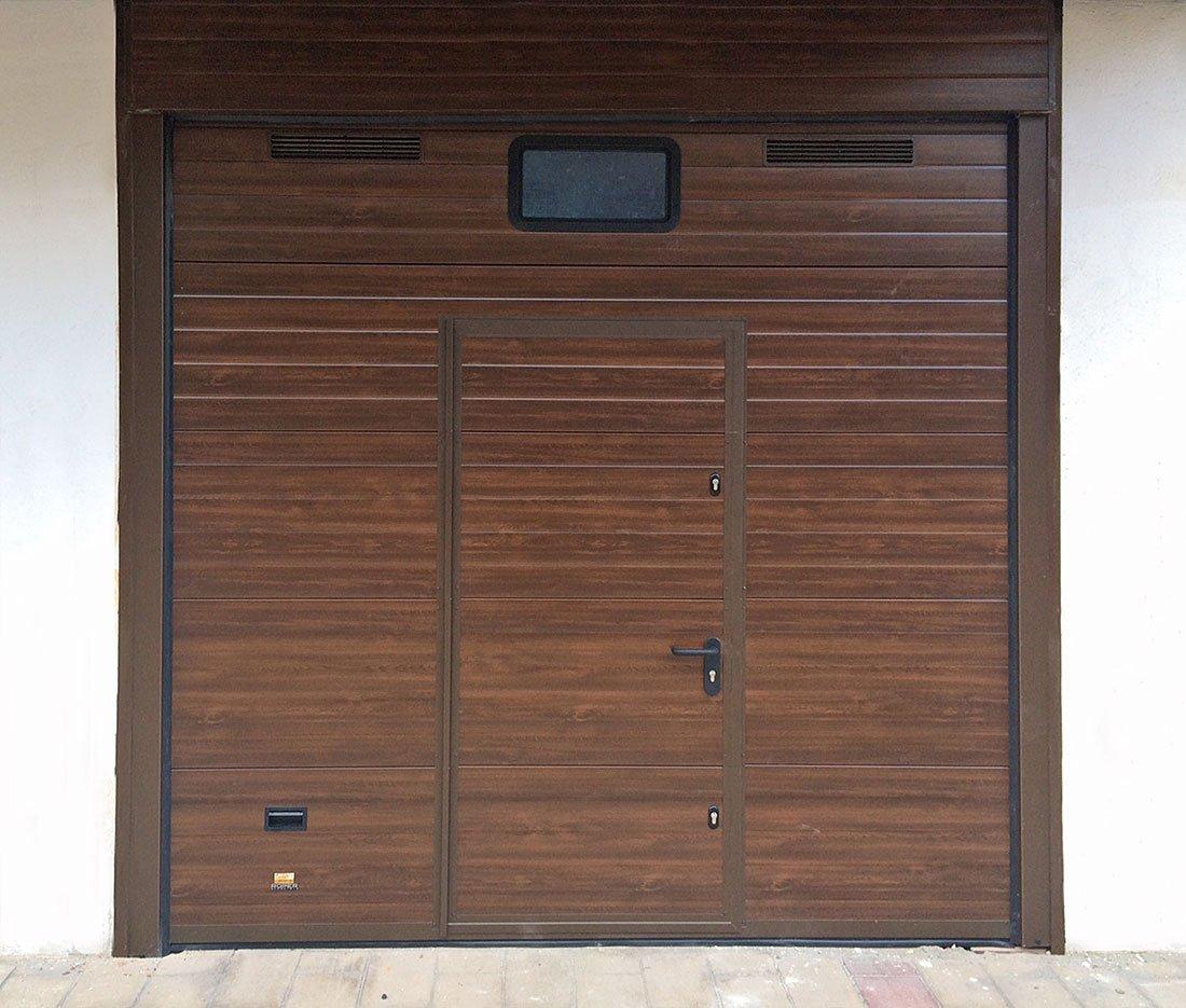 Puertas de garaje persysol soluciones profesionales for Puertas para garajes